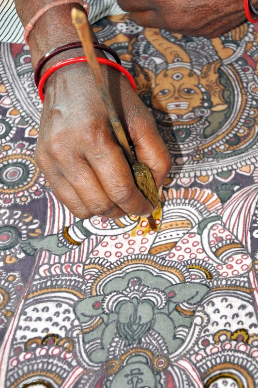 Kalamkari Handpainting
