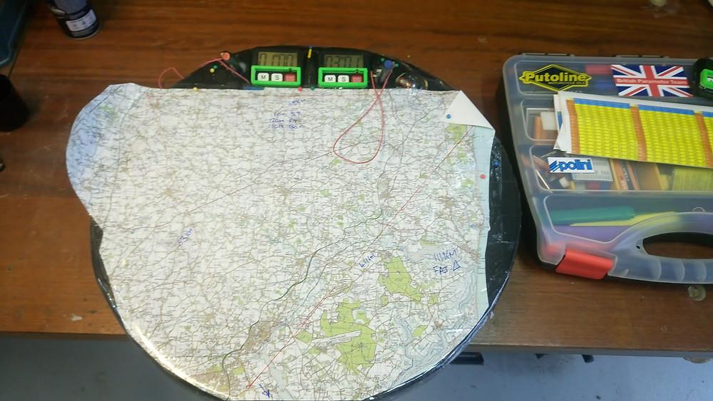 Max area task planning