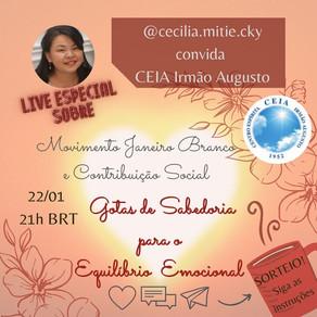 Live com Cecília Mitie