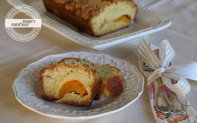עוגת משמש ואניס   רוקחת החלומות