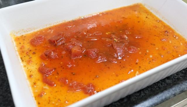 לזניה עגבניות וחצילים