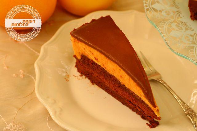 עוגת מוס שוקולד-תפוז | רוקחת החלומות