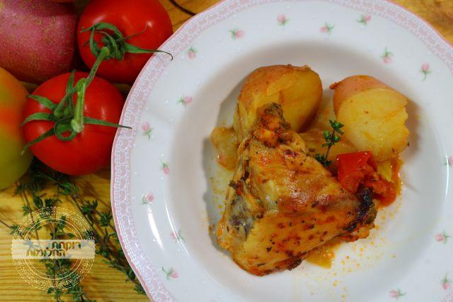 קדירת עוף ותפוחי אדמה | רוקחת החלומות