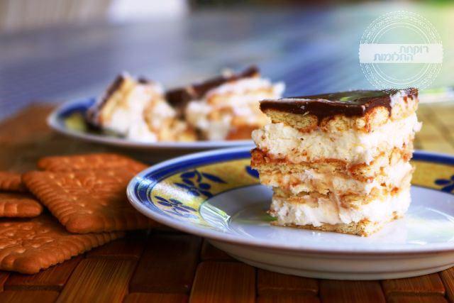 עוגת ביסקוויטים | רוקחת החלומות