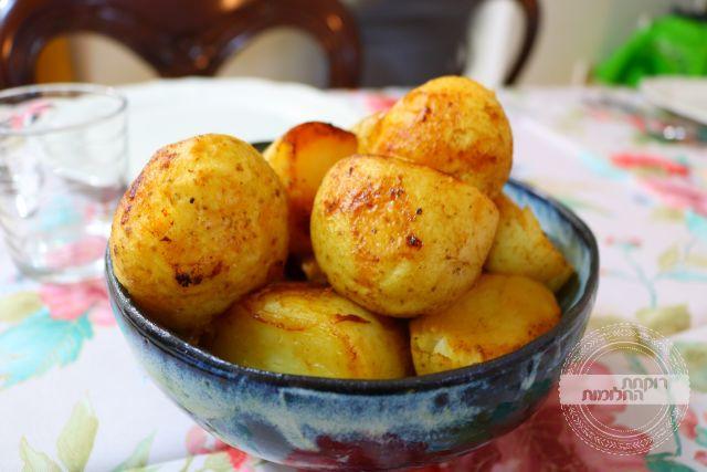 תפוחי אדמה בשומן אווז | רוקחת החלומות