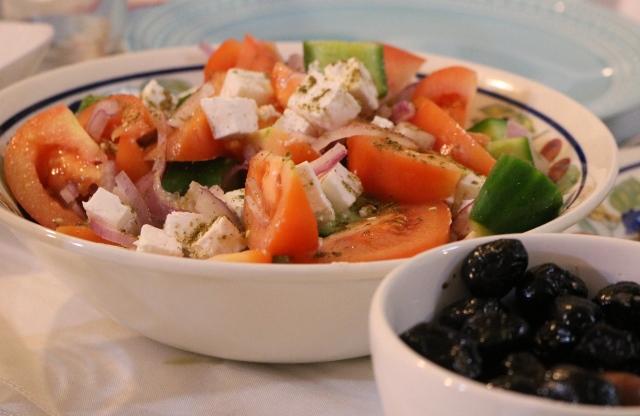 ארוחה יוונית   רוקחת החלומות