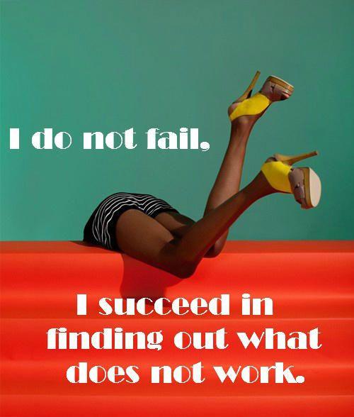 כישלון בדרך להצלחה