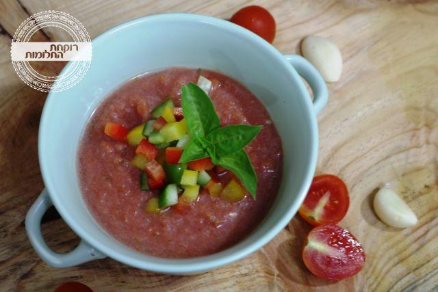 גספצ'ו, מרק עגבניות קר | רוקחת החלומות