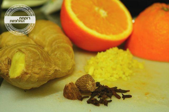 מרכיבי טעם לעוגת תפוזים | רוקחת החלומות