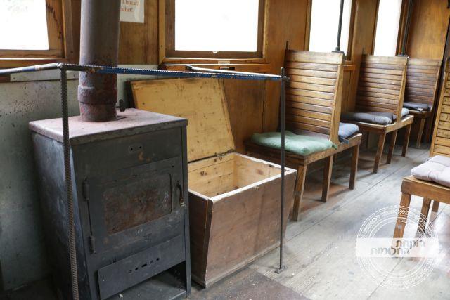 קרון מקורי ברכבת הקיטור האחרונה | רוקחת החלומות