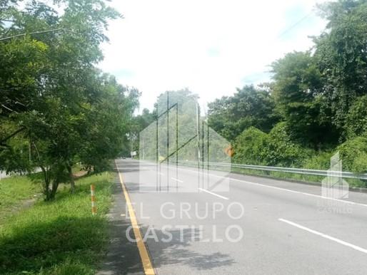 En venta total o parcial 9 Mz con 410 Mt de frente, sobre Autopista a Comalapa, San Luis Talpa