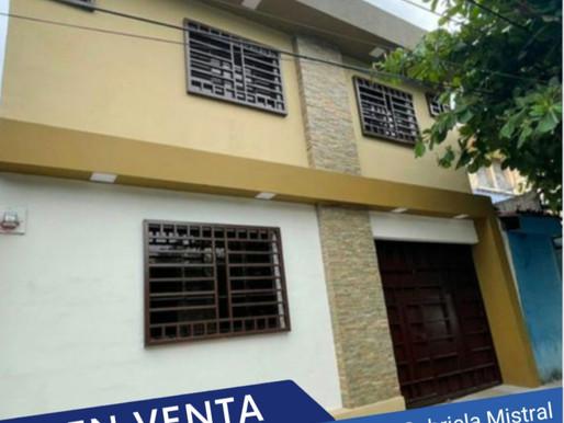 SE VENDE CASA en Col. Centro América Calle Gabriela Mistral