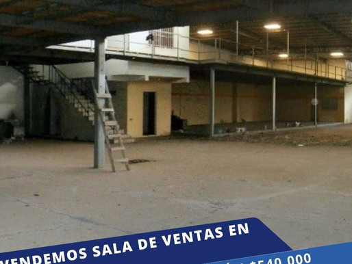 EN OFERTA VENDO NAVE INDUSTRIAL QUE FUNCIONA COMO SALA DE VENTA EN SONSONATE, CARRETERA ACAJUTLA
