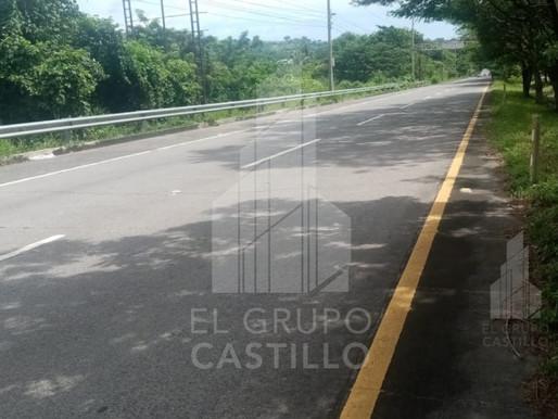 En venta 1.99 Mz con 140 Mt de frente, sobre Autopista a Comalapa, San Luis Talpa