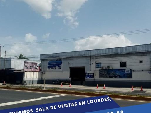 EN SUPER OFERTA SALA DE VENTAS EN LA MERA ZONA DE COMERCIO ENTRANDO A LOURDES, SOBRE PANAMERICANA