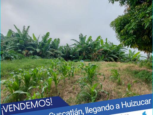 En venta 2.5 MZ nuevo Cuscatlán, llegando a Huizucar, con Vista