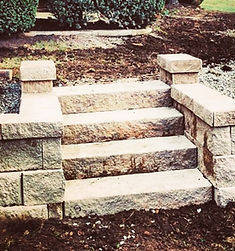 Concrete Steps at Indianapolis residence