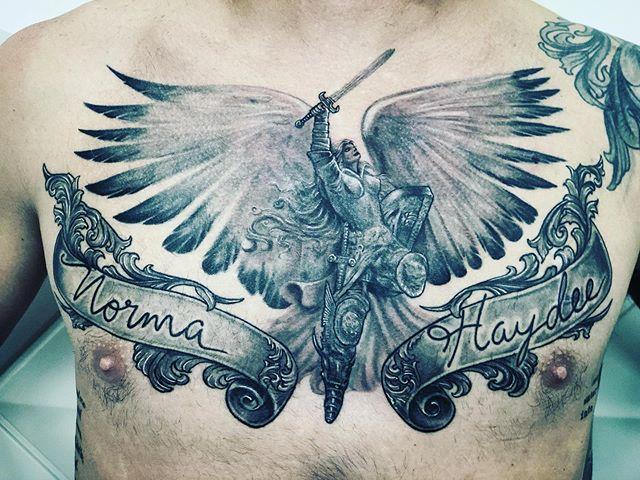 Homenagem para as avós - #tatuagem #pret
