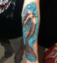 Homenageando a filha - #sereia #mermaid
