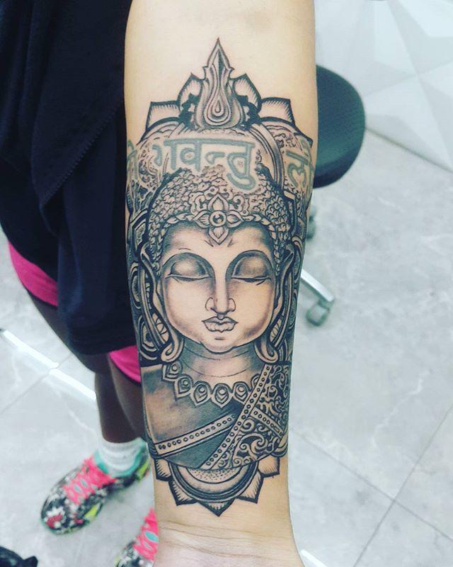 #buddha  #budha #buda  #namaste #tatuage