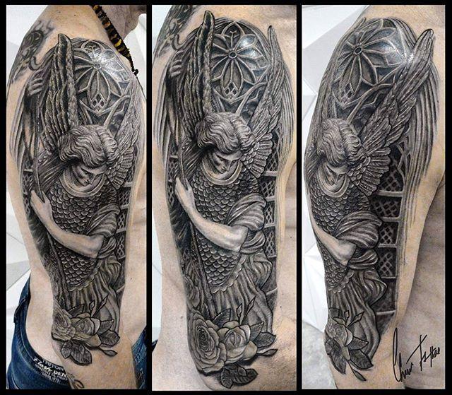 Salve Miguel Arcanjo  #tattoo #tatuagemc