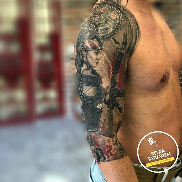 O processo de criação da Tatuagem TRASH