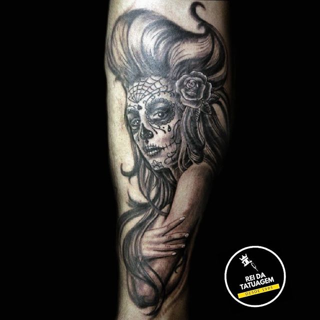 Catrina . . . #tattooist#tattoo#tattoois