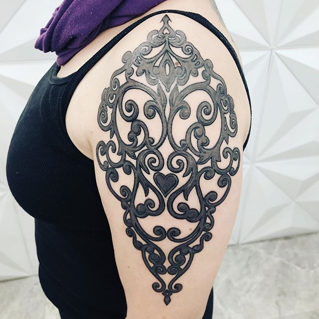 Ornamental da Camila #ornament #tattoo.j