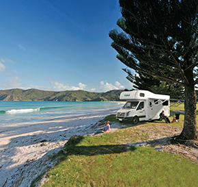 Explore New Zealand in a motorhome adventure!