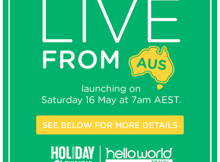Love Australia! See it live from your lounge room.