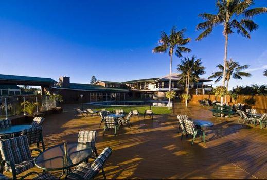 South Pacific Island Resort