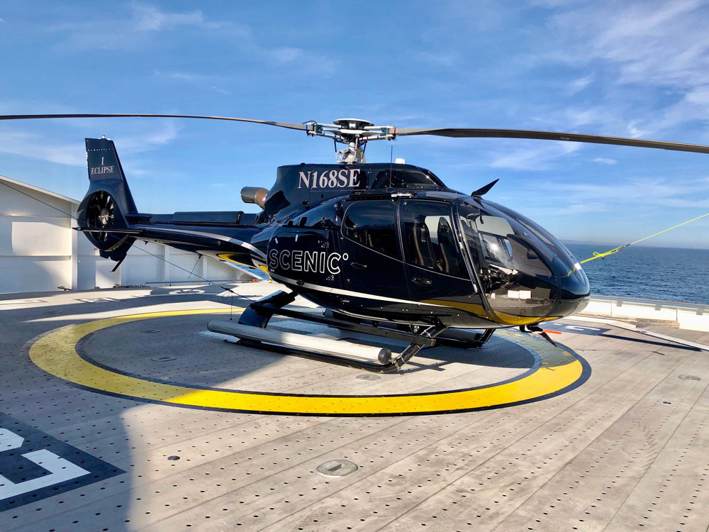 Helicopter Scenic Eclipse