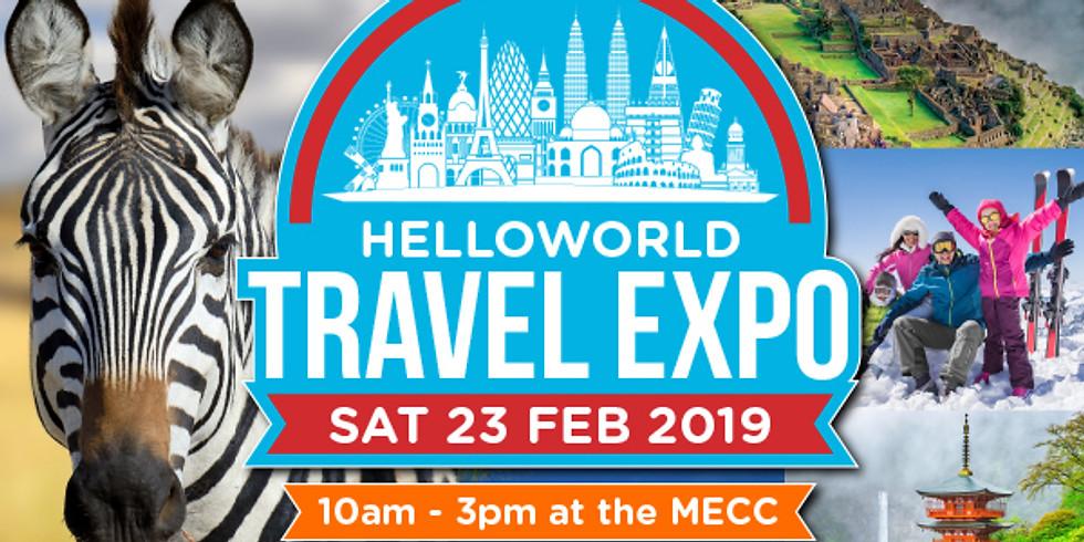 Helloworld Travel Expo Major Prize Draw