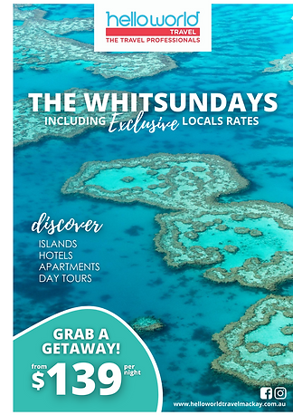Exclusive local rates for the Whitsundays