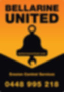 bellarine united pl logo