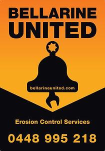 bellarine united pl logo