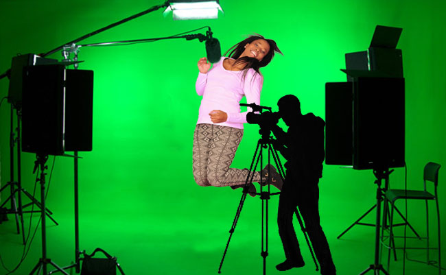 Green Screen shoots
