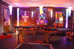 Studio set up for Gambling shoot