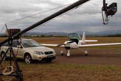 on location  - Subaru Video Shoot