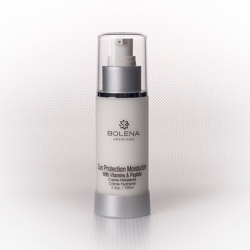 Sun Protector Moisturizer with vitamins & peptide