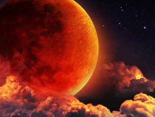 Luna Sângerie: Diseară, privește cerul și bucură-te de spectacolul naturii
