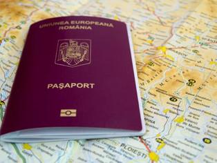 Paşaportul simplu electronic pentru cetăţenii români cu domiciliul în România