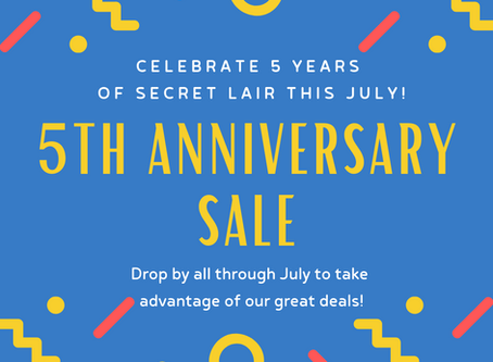 5th Anniversary Sale