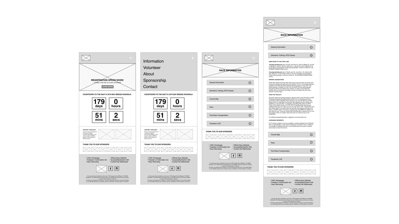 Lo-Fi Mobile Wireframes