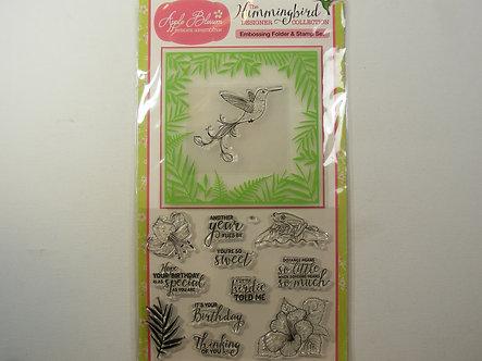 Apple Blossom - Humming Bird Collection.