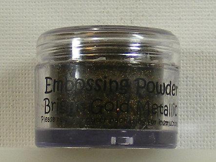 Cosmic Shimmer - Bright Gold Metallic Embossing Powder
