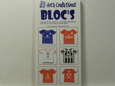 Arts & Crafts Direct - Paper Bloc's - Football.