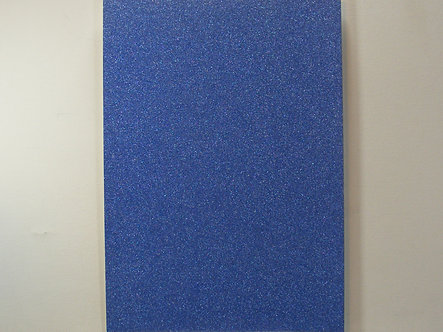 A4 Soft Touch Glitter Card - Blue.
