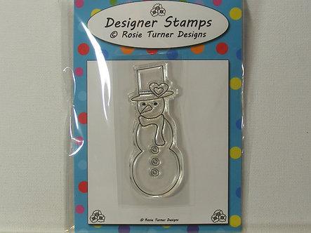 Rosie Turner - Fun Snowman Stamp