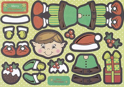 Kanban - Eddie The Elf Wobbler Topper